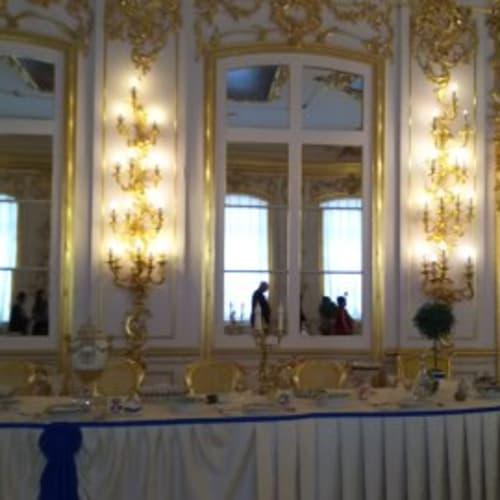 エカテリーナ宮殿内。 | サンクトペテルブルク