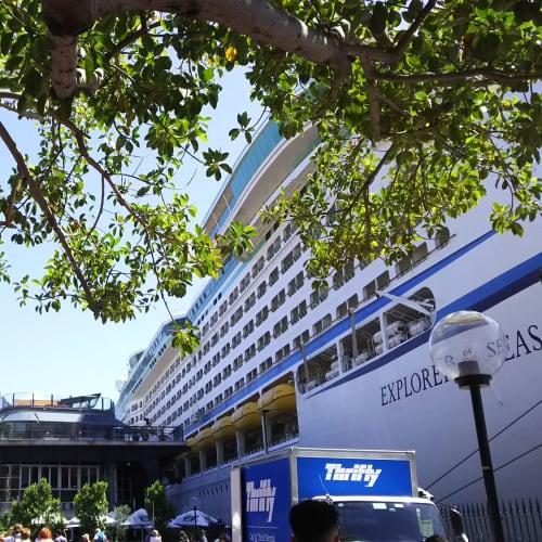 シドニー出発ターミナル | シドニーでの客船エクスプローラー・オブ・ザ・シーズ