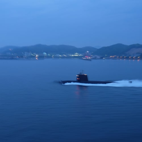 わー!潜水艦です!!かっこよすぎます!! | 北九州
