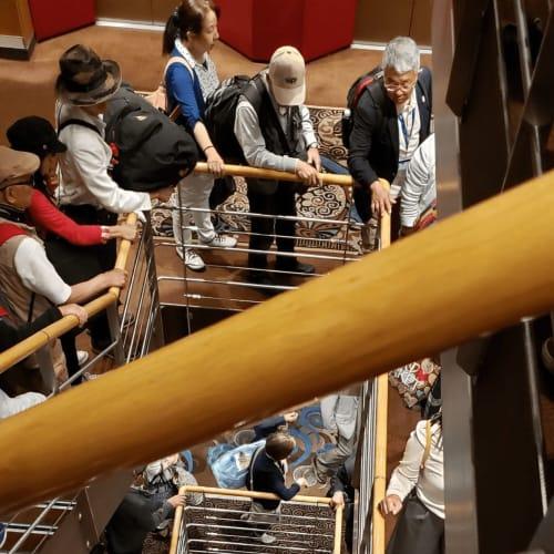 客船コスタ・ネオロマンチカの乗客、船内施設