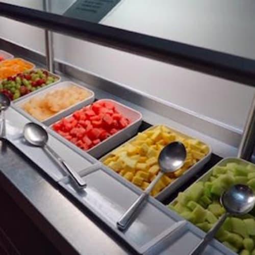 朝食のメニューです、毎日メニューに変わりはありません。 | 客船スター・レジェンドのブッフェ、フード&ドリンク