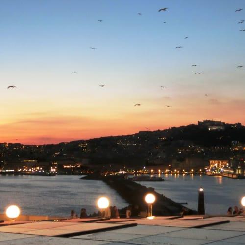 チビタヴェッキア港に向かって出航です。 死ぬ前にナポリを見れました。