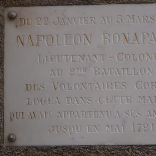 ナポレオンが宿泊していた歴史のある建物。 | ボニファシオ(コルシカ島)