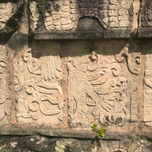 メキシコ ユカタン半島にて。 チェチェン・イッツァのマヤ遺跡。 | コスメル