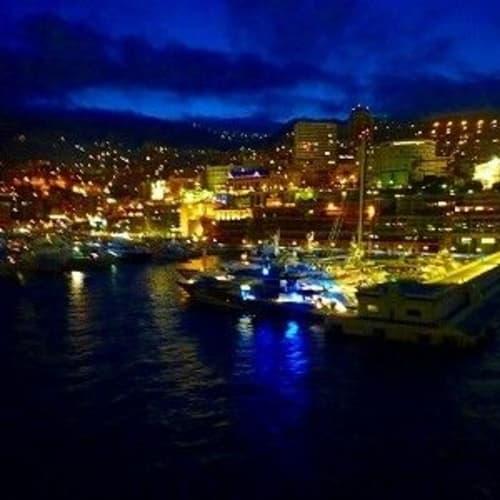 モンテカルロの夜景 | モンテカルロ