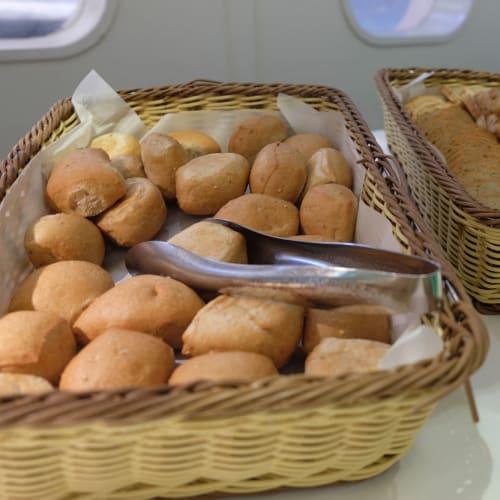 パンかわいい | 客船コスタ・ネオロマンチカのブッフェ、フード&ドリンク