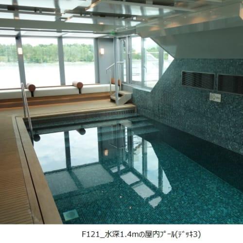 客船MSアマデウス・クイーンの船内施設