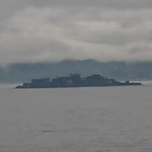軍艦島   長崎