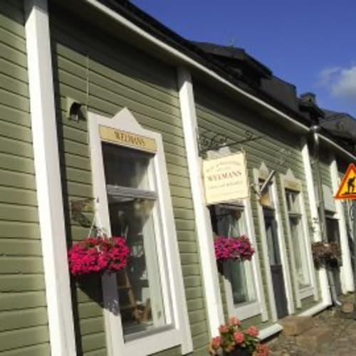 ヘルシンキから車で1時間ほどのポルヴォ(Porvoo)の街並み。 | ヘルシンキ