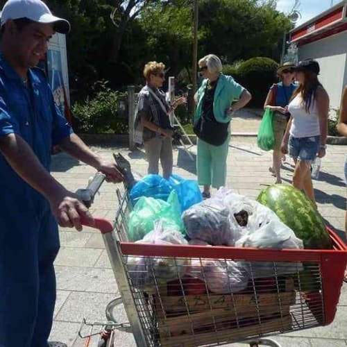 ドブロブニク シェフのお買い上げ品 | ドゥブロヴニクでの客船シーボーン・スピリット