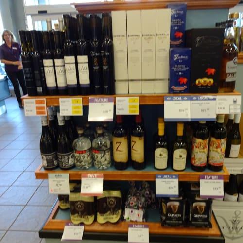 アイスワインも、港近くのスーパーで 格安に。 | ボストン(マサチューセッツ州)