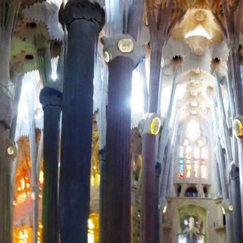 幻想的な光景 光が効果的 | バルセロナ