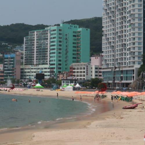 韓国の松島の海岸   釜山