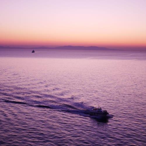 ミコノス島までもう少し | ミコノス島