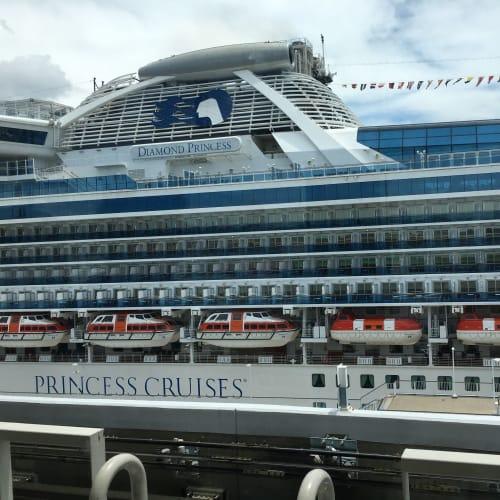 ダイヤモンドプリンセス | 客船ダイヤモンド・プリンセスの外観