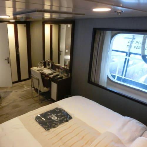 客船アザマラ・ジャーニーの客室