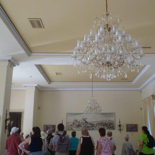 宮殿内部の様子 | ケルキラ島(コルフ島)