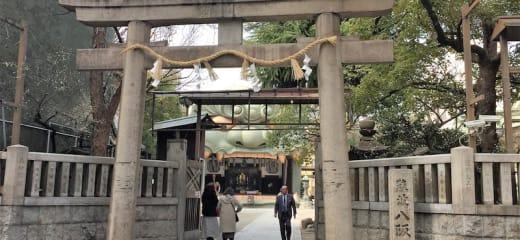 ダイヤモンドプリンセス 難波八坂神社