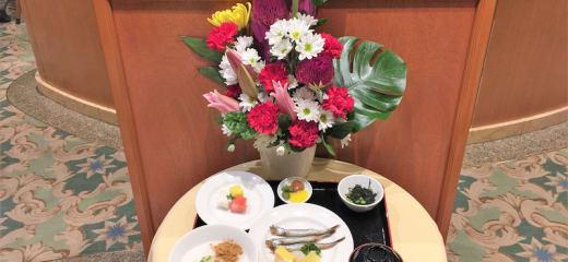 ダイヤモンドプリンセス 和朝食(インターナショナルダイニング)
