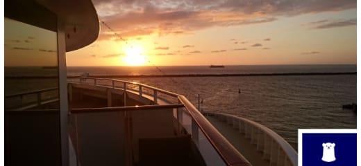 MSCスプレンディダからの眺め