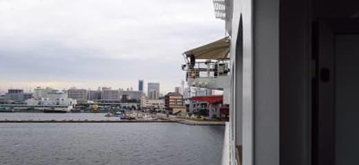 サン・プリンセス日本発着最終クルーズ その37 5日目(9/24) 下船、神戸