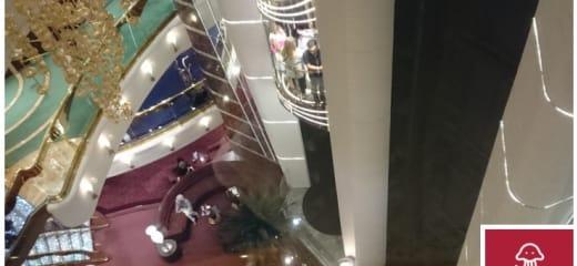 【クルーズ船での運動】歩ける人は階段を使おう