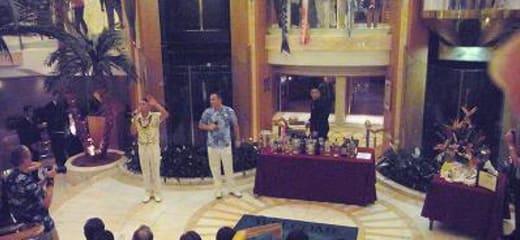 2013GW サン・プリンセス日本発着クルーズ乗船記 第9日 その10 アフターディナー