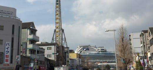 ダイヤモンドプリンセス 大阪港から乗船