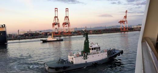 ダイヤモンドプリンセス 名古屋港への入港