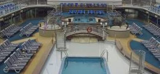 2013GW サン・プリンセス日本発着クルーズ乗船記 第八日 その3 船内散策その1