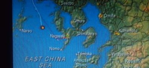 2013GW サン・プリンセス日本発着クルーズ乗船記 第五日 その1 長崎入港