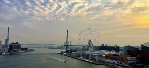 ダイヤモンドプリンセス 大阪港入港