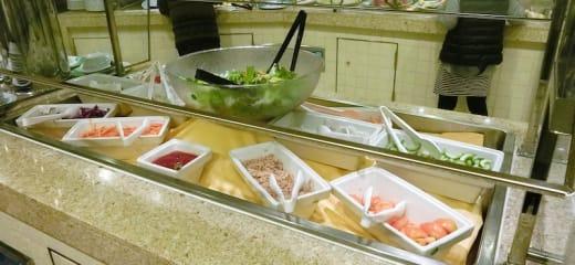 ダイヤモンドプリンセス 夕食(ビュッフェスタイル)2