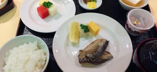 ダイヤモンドプリンセス 和朝食(インターナショナルダイニングルーム)