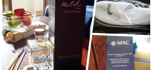 MSCの限定ルームフレグランスがいい香り過ぎ/MSC limited room fragrance has a pleasant scent