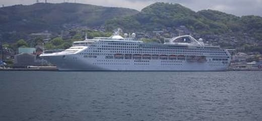 2013GW サン・プリンセス日本発着クルーズ乗船記 第五日 その7 港内遊覧船 その1