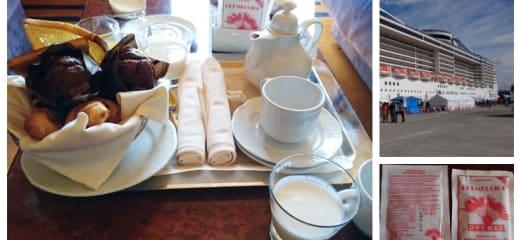 優雅に朝ごはん スプレンディダの朝食ルームサービス/ Graceful breakfast. Breakfast room service