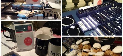 MSCスプレンディダで買えるかわいいお土産/Shopping info