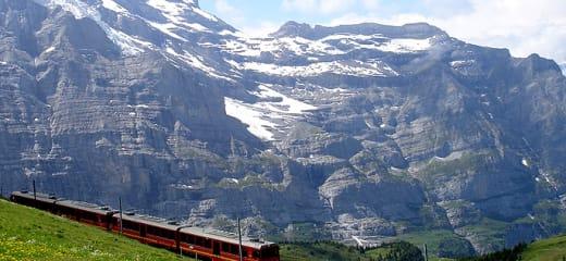 スイス グリンデルワルドで暮らす様に旅をする~グリンデルワルド到着編~