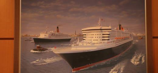 クイーンメリー2で行く東南アジア周遊クルーズ10日間の旅③QM2船内