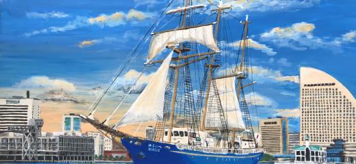 帆船みらいへ クリスマスミニクルーズ乗船記