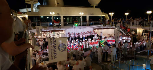 アザマラクエスト日本周遊乗船記5-アズアメージングナイトとホワイトナイト