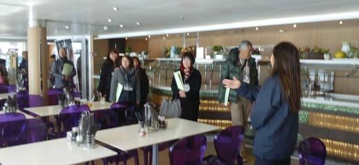 仕事始めは名古屋港開港110年の歴史的な記念日から!