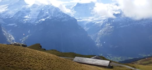 スイス グリンデルワルドで暮らす様に旅をする~グリンデルワルド村内編その①~