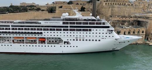 MSCクルーズ at 地中海 4日目(マルタ共和国の世界遺産バレッタ観光)