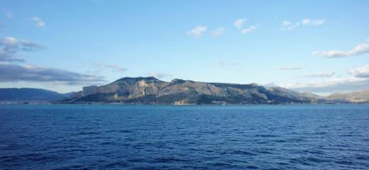 MSCクルーズ at 地中海 3日目(イタリアの一番大きな島、シチリア)
