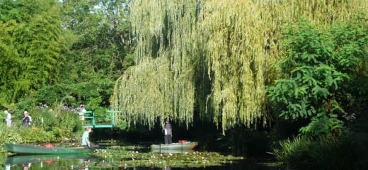 リバークルーズ セーヌ河とモネの庭 その③