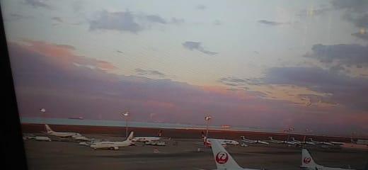 オーシャニア バルト海クルーズより中部国際空港へ戻り