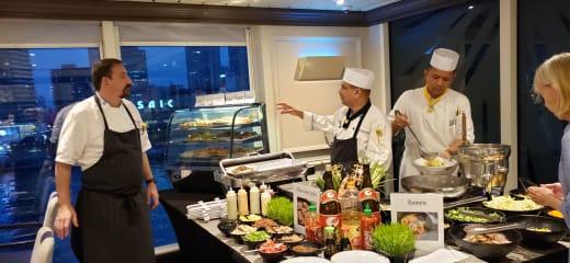 アザマラクエスト日本周遊乗船記3-気配りから生まれた食事のおいしさに感動