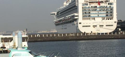 横浜発シンガポール行き乗船記(12月7日)